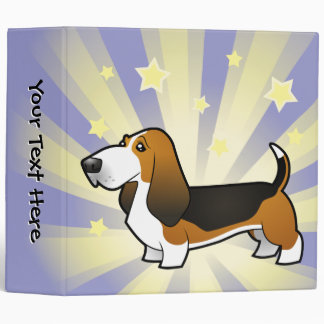 Little Star Basset Hound Binder