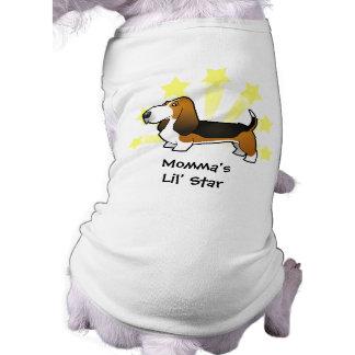 Little Star Basset Hound T-Shirt