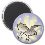 Little Star Bearded Dragon / Rankins Dragon 2 Inch Round Magnet