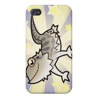 Little Star Bearded Dragon / Rankins Dragon iPhone 4 Case