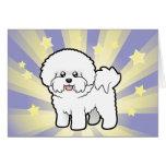 Little Star Bichon Frise Card