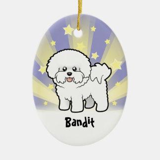 Little Star Bichon Frise Ornaments