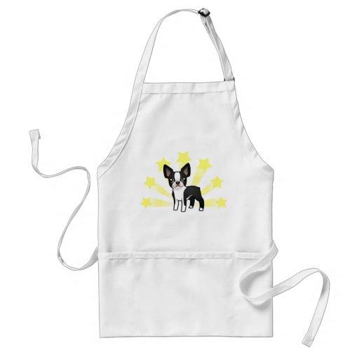 Little Star Boston Terrier Adult Apron