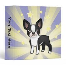 Little Star Boston Terrier Binder