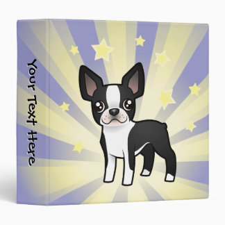 Little Star Boston Terrier Binder