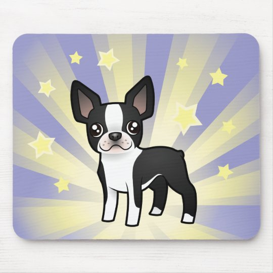 Little Star Boston Terrier Mouse Pad