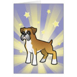 Little Star Boxer Greeting Card