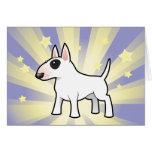 Little Star Bull Terrier Greeting Card