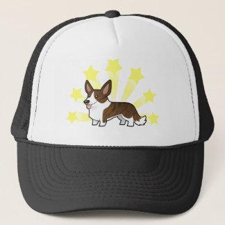 Little Star Cardigan Welsh Corgi Trucker Hat