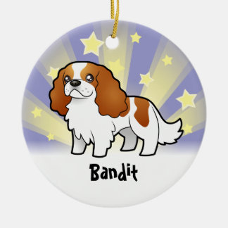 Little Star Cavalier King Charles Spaniel Ceramic Ornament