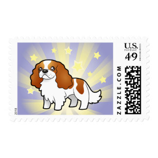 Little Star Cavalier King Charles Spaniel Stamp