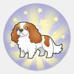 Little Star Cavalier King Charles Spaniel Stickers