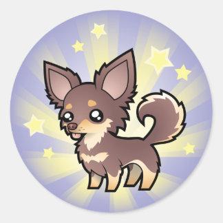 Little Star Chihuahua (long coat) Sticker