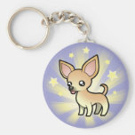 Little Star Chihuahua (smooth coat) Keychain