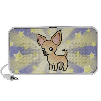 Little Star Chihuahua smooth coat iPhone Speaker