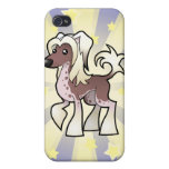 Little Star Chinese Crested (hairless) iPhone 4/4S Cases