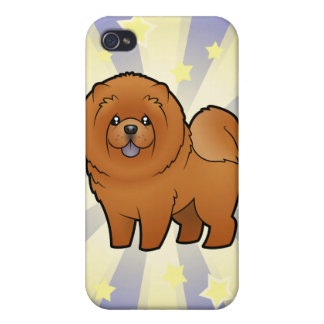 Little Star Chow Chow iPhone 4/4S Cases