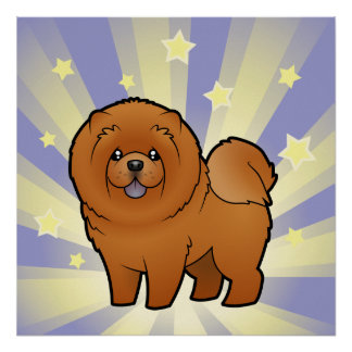 Little Star Chow Chow Poster