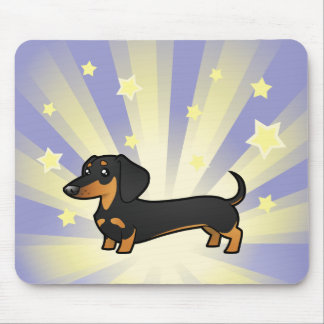 Little Star Dachshund (smooth coat) Mouse Pad