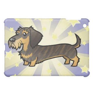 Little Star Dachshund (wirehair) iPad Mini Cases
