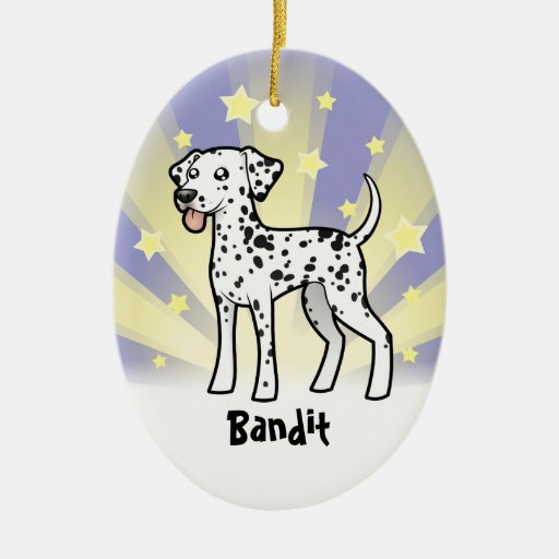 Little Star Dalmatian Ornaments