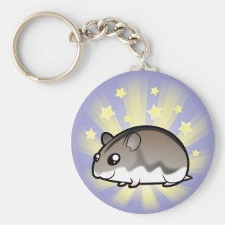 Little Star Dwarf Hamster Keychain