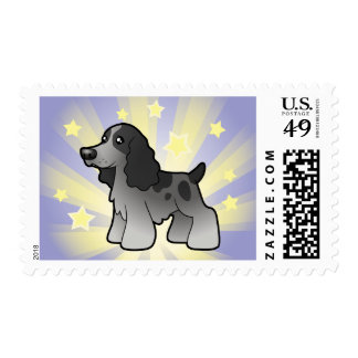 Little Star English Cocker Spaniel Postage