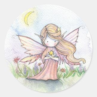 Little Star Fairy Stickers by Molly Harrison