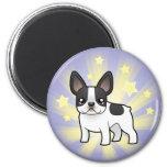 Little Star French Bulldog Fridge Magnet