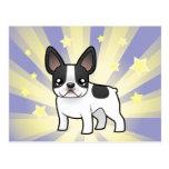 Little Star French Bulldog Postcard