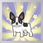 Little Star French Bulldog Poster
