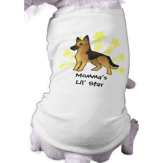 Little Star German Shepherd Shirt