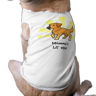 Little Star Golden Retriever T-Shirt
