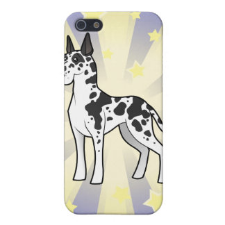 Little Star Great Dane iPhone SE/5/5s Case