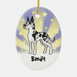 Little Star Great Dane Ornaments