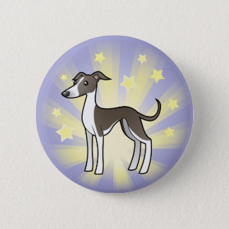 Little Star Greyhound/Whippet/Italian Greyhound Button