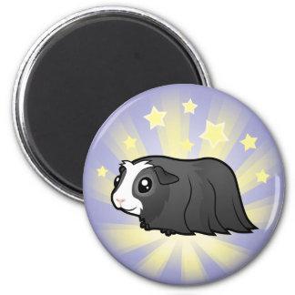 Little Star Guinea Pig (long hair) Magnet