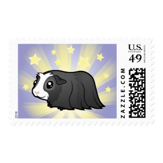 Little Star Guinea Pig (long hair) Postage