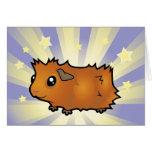 Little Star Guinea Pig (scruffy) Card