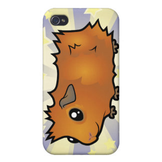 Little Star Guinea Pig (scruffy) Cover For iPhone 4