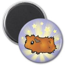 Little Star Guinea Pig (scruffy) Magnet