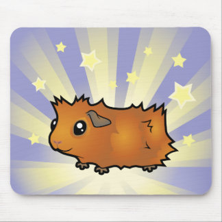 Little Star Guinea Pig (scruffy) Mouse Pad