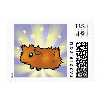 Little Star Guinea Pig (scruffy) Postage