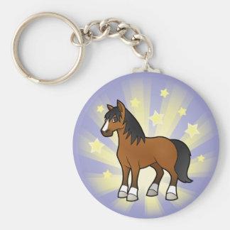 Little Star Horse Keychain