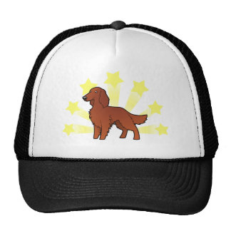 Little Star Irish / English / Gordon / R&W Setter Trucker Hat