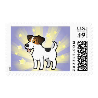Little Star Jack Russell Terrier Postage