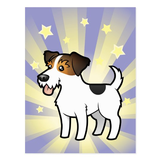 Little Star Jack Russell Terrier Postcard