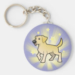 Little Star Labrador Retriever Keychain