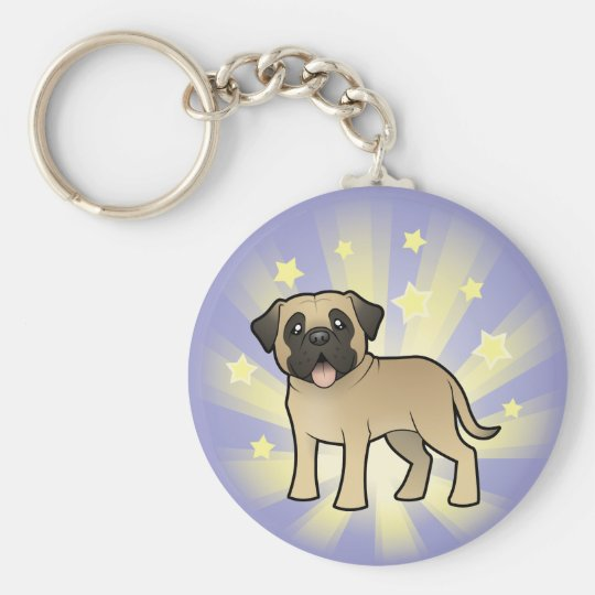 Little Star Mastiff / Bullmastiff Keychain