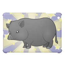 Little Star Miniature Pig iPad Mini Case